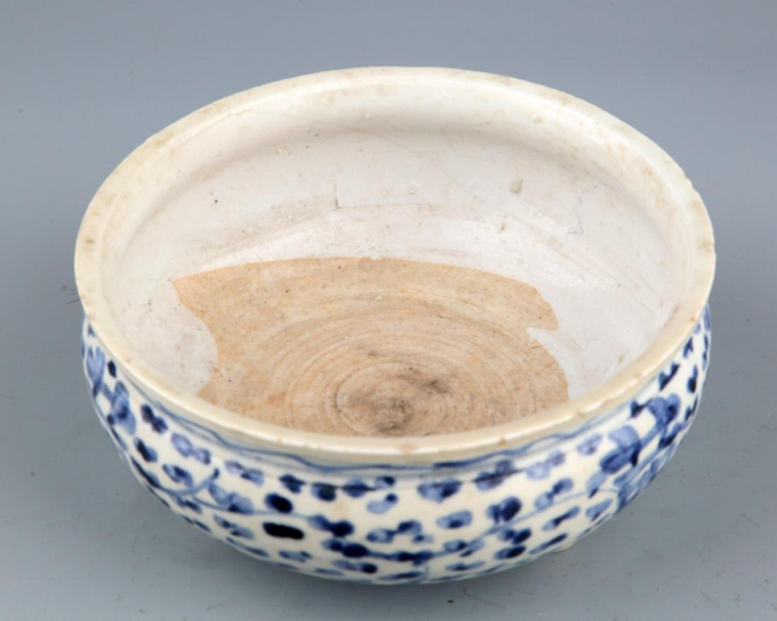 A PORCELAIN MAKE UP BOX AND CENSER - 8