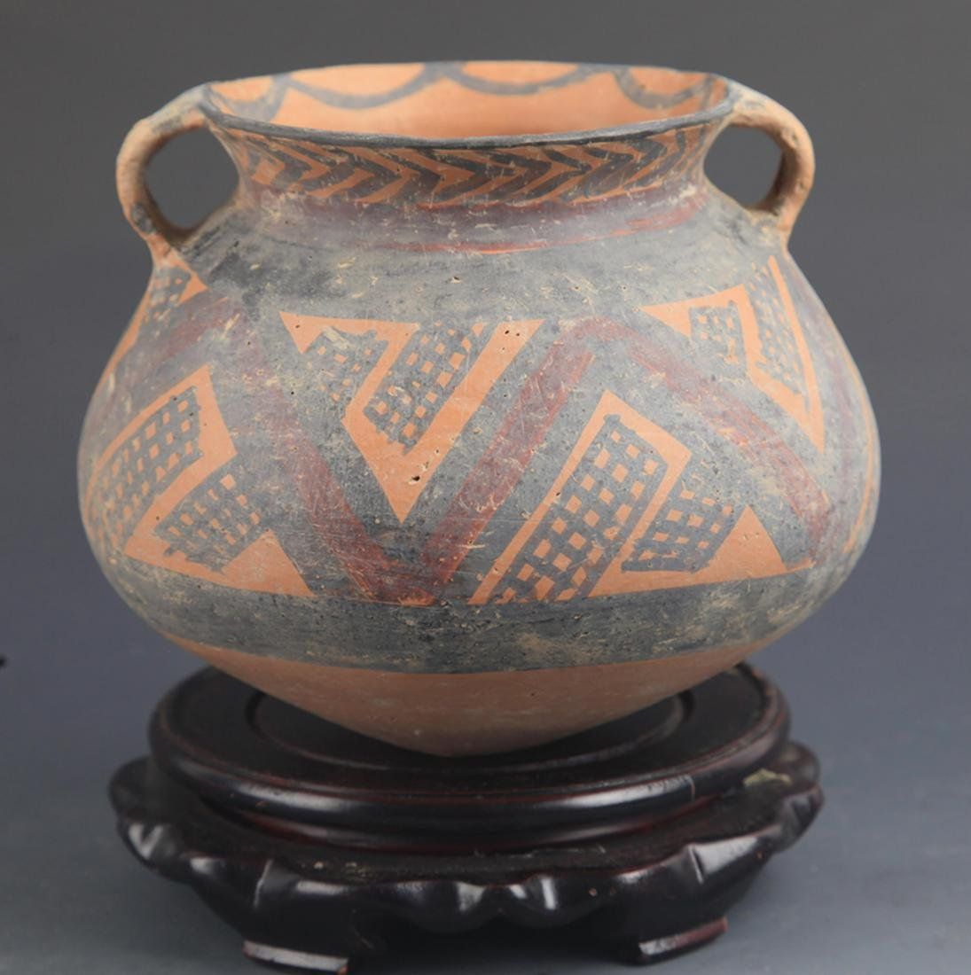 A YANG YUN CULTURE STYLE POTTERY JAR