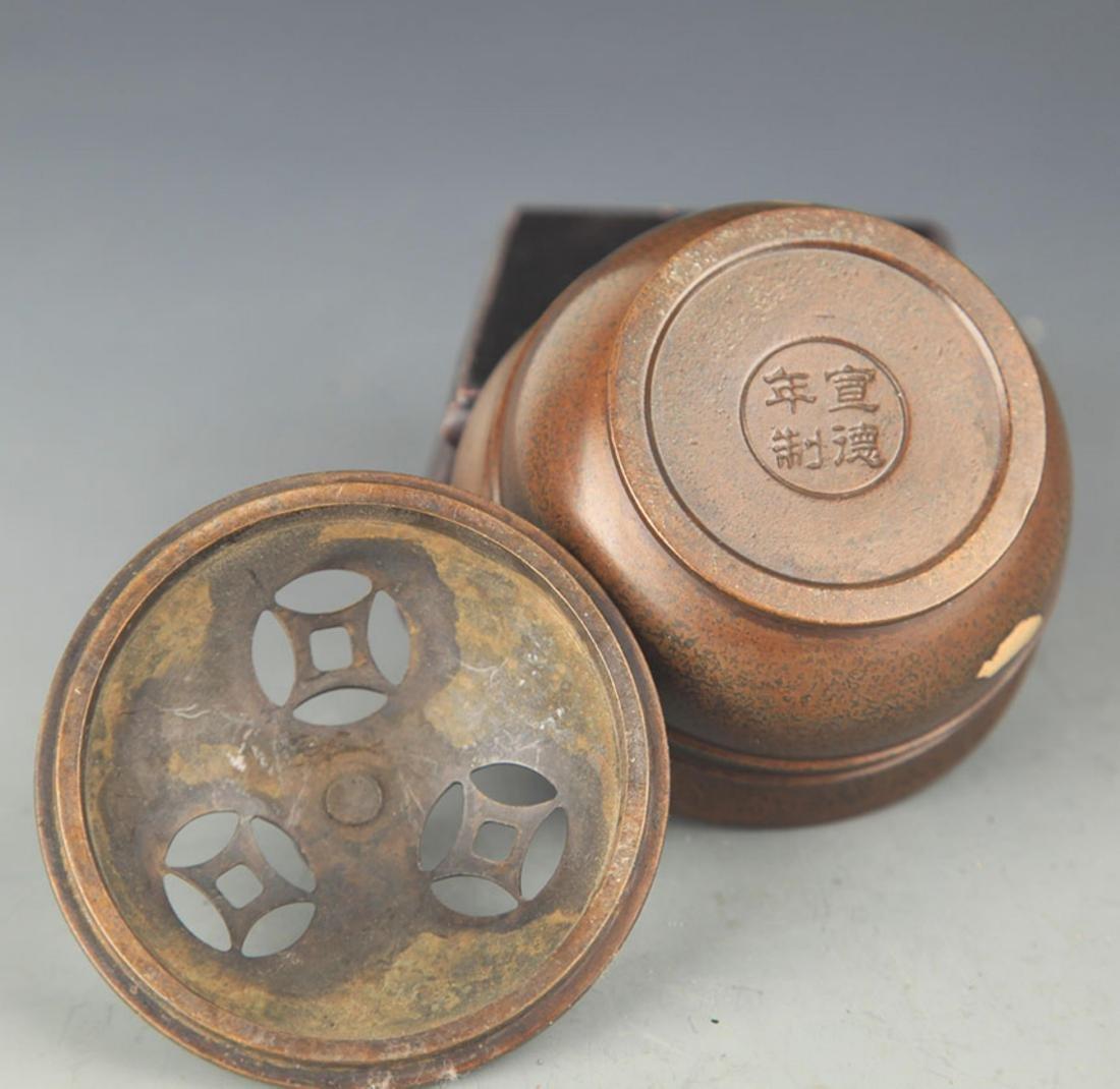 A BRONZE SPRINKLE GOLD AROMATHERAPY - 3
