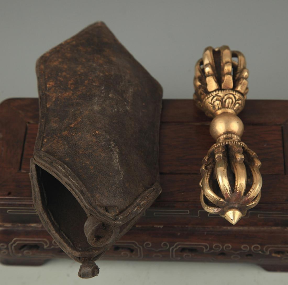 TIBETAN BUDDHISM INSTRUMENTS VAJAR AND PHURBA - 4