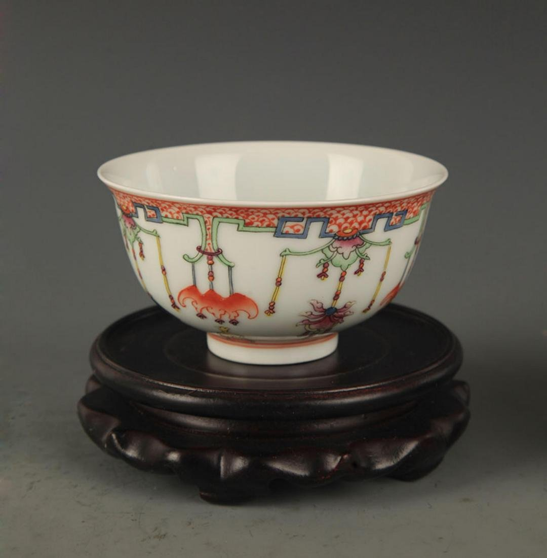DOU CAI COLOR FINELY PAINTED PORCELAIN BOWL