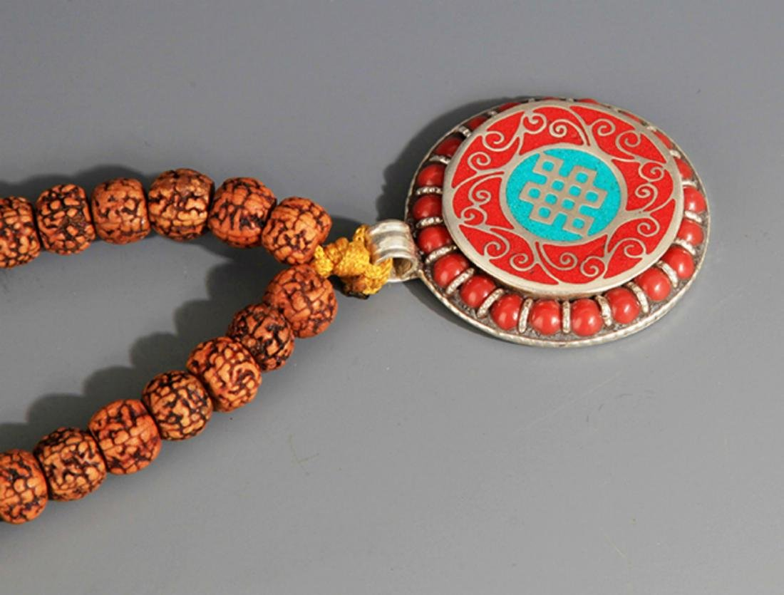GROUP OF TWO FINE CHINESE NECKLACE - 8