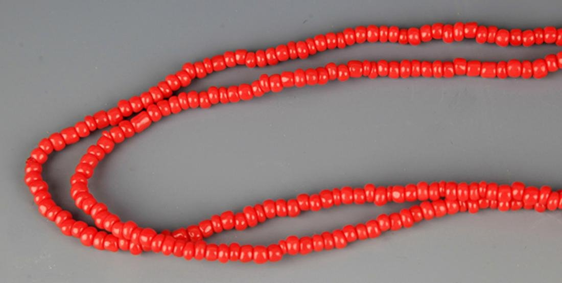 GROUP OF TWO OLD CHINESE NECKLACE - 3