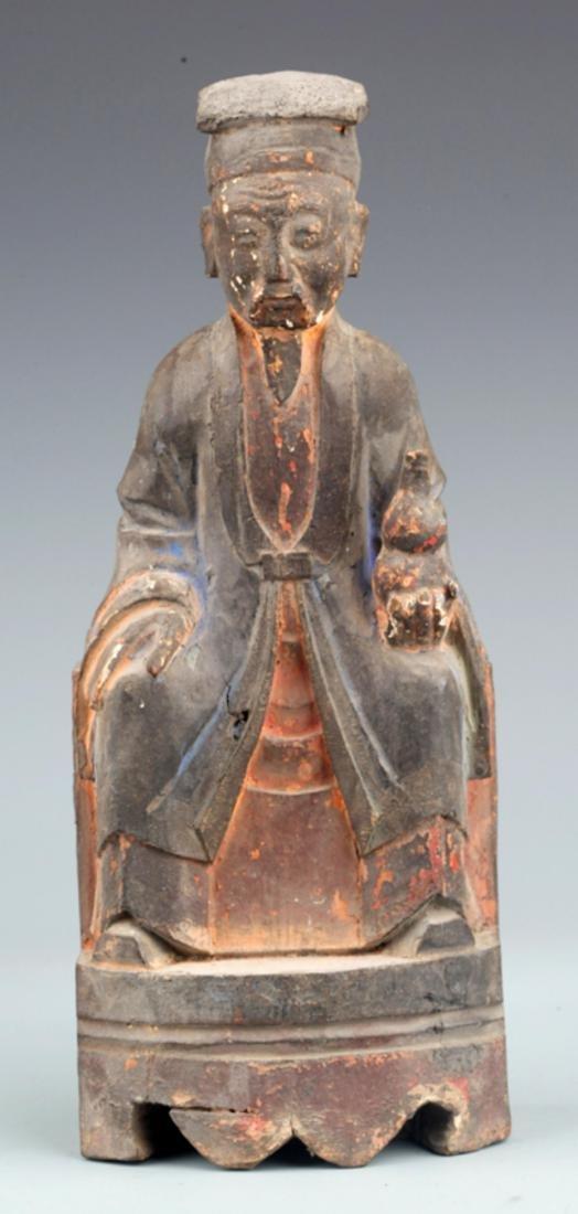 A FINELY BHAISAJYAGURU BUDDHA DECORATION