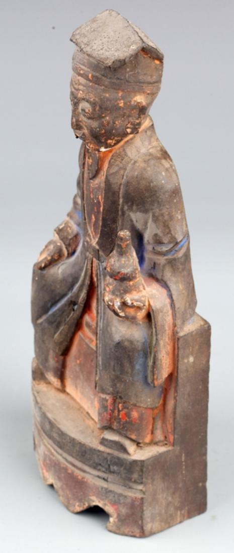 A FINELY BHAISAJYAGURU BUDDHA DECORATION - 6