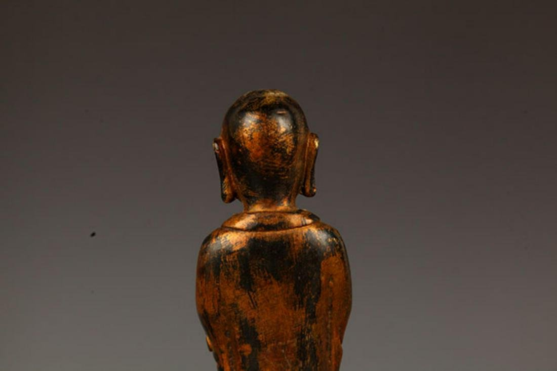 A FINELY MADE BRONZE YOUNG BUDDHA STATUE - 7