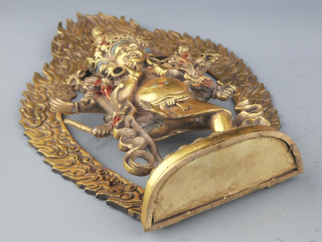 A FINELY TIBETAN BUDDHISM YAMANTAKA FIGURE - 10