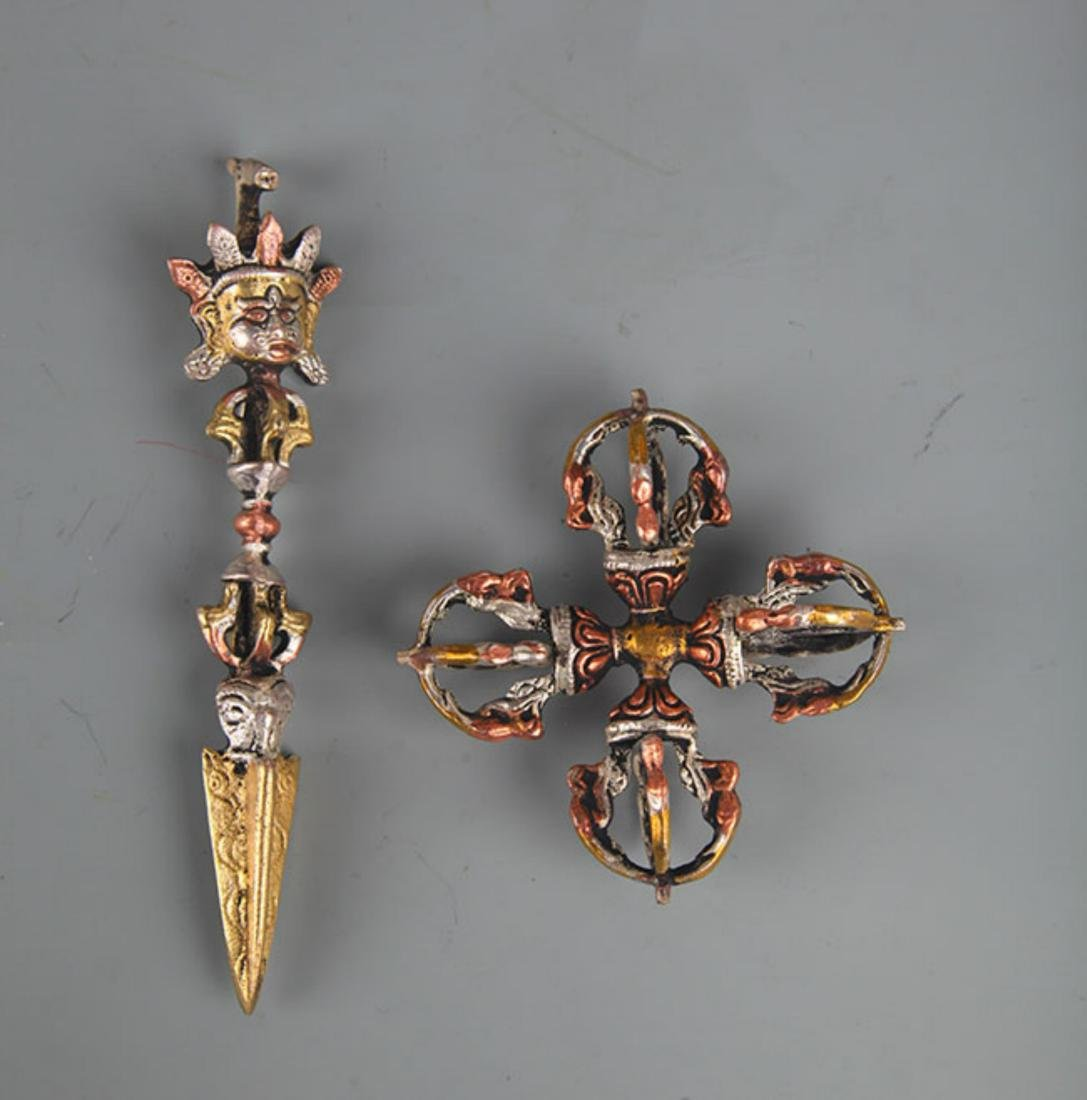TIBETAN BUDDHISM INSTRUMENTS VAJRA