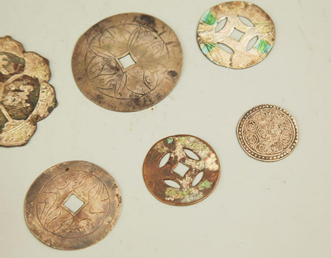 GROUP OF OLD CHINESE LUCKY COIN - 4