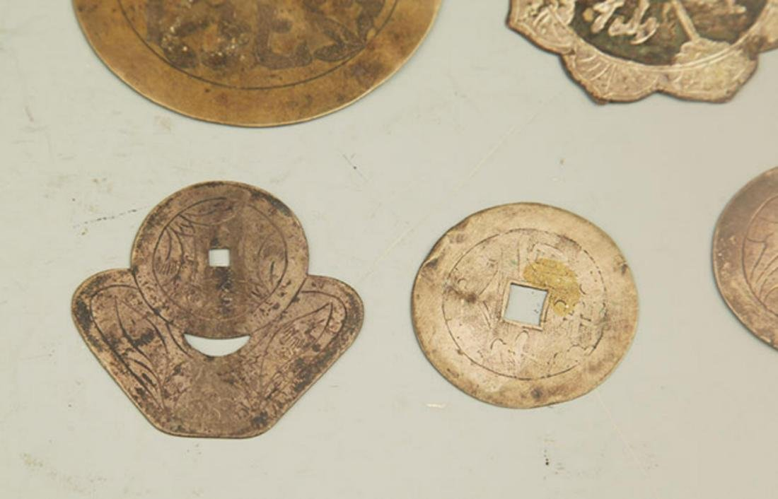 GROUP OF OLD CHINESE LUCKY COIN - 5