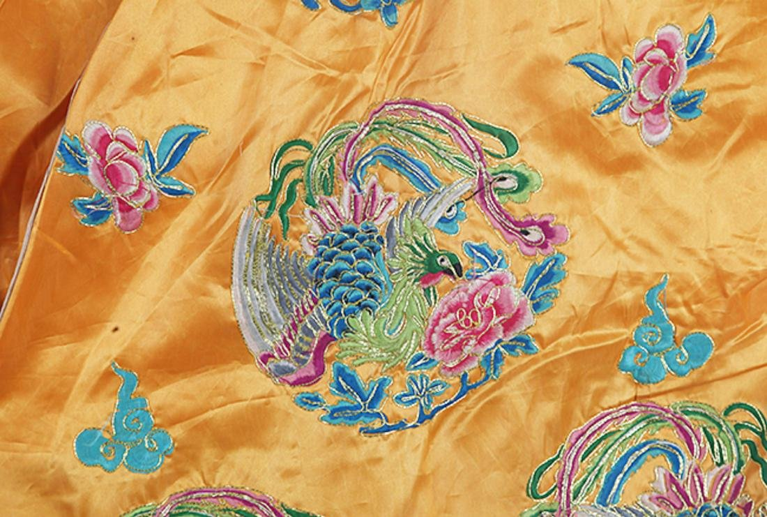A FINE HAND MAKING DRAGON EMBROIDERED ROBE - 3