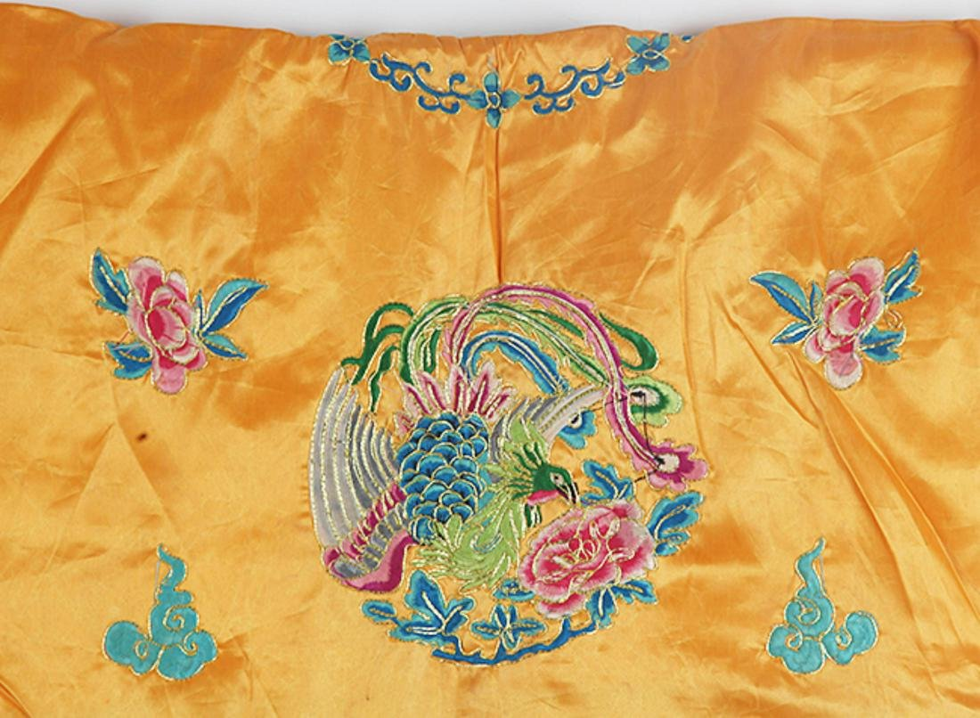A FINE HAND MAKING DRAGON EMBROIDERED ROBE - 6