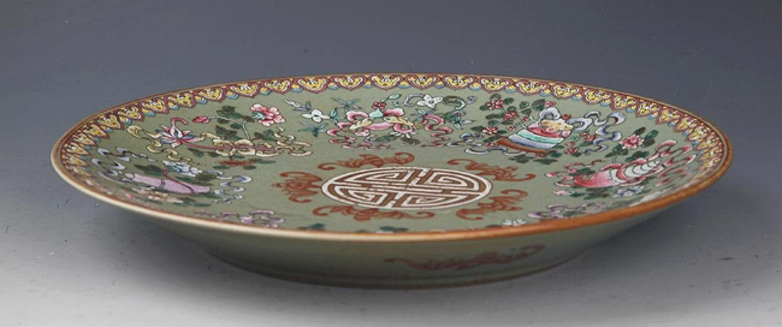 GROUP OF TWO FINELY PAINTED PORCELAIN PLATE - 3