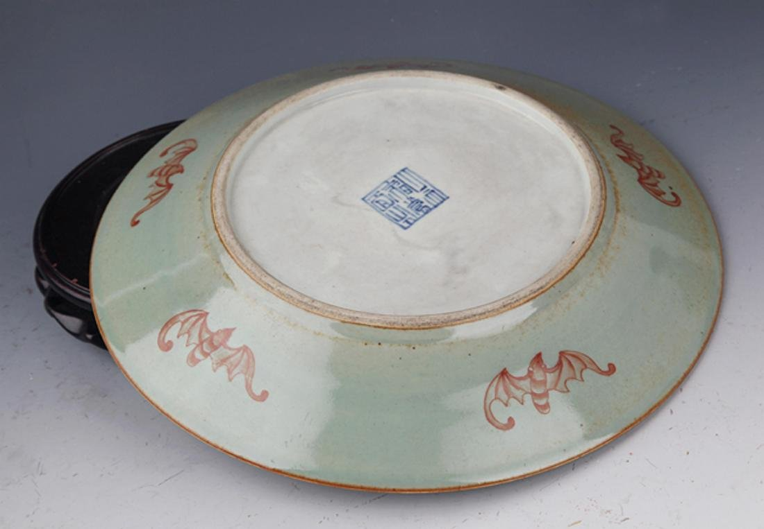 GROUP OF TWO FINELY PAINTED PORCELAIN PLATE - 4