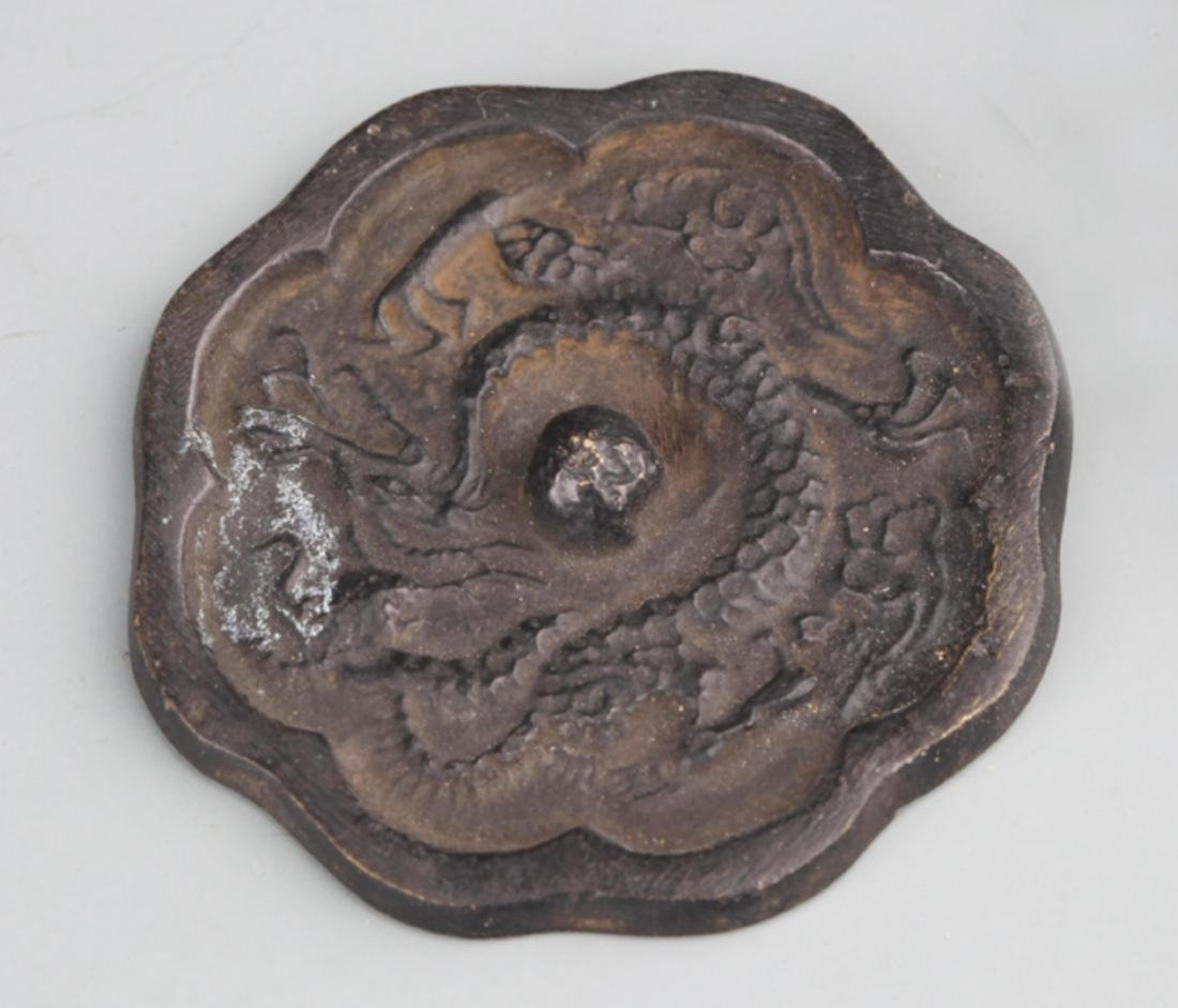 GROUP OF FOUR FINELY CARVED DECORATION - 5