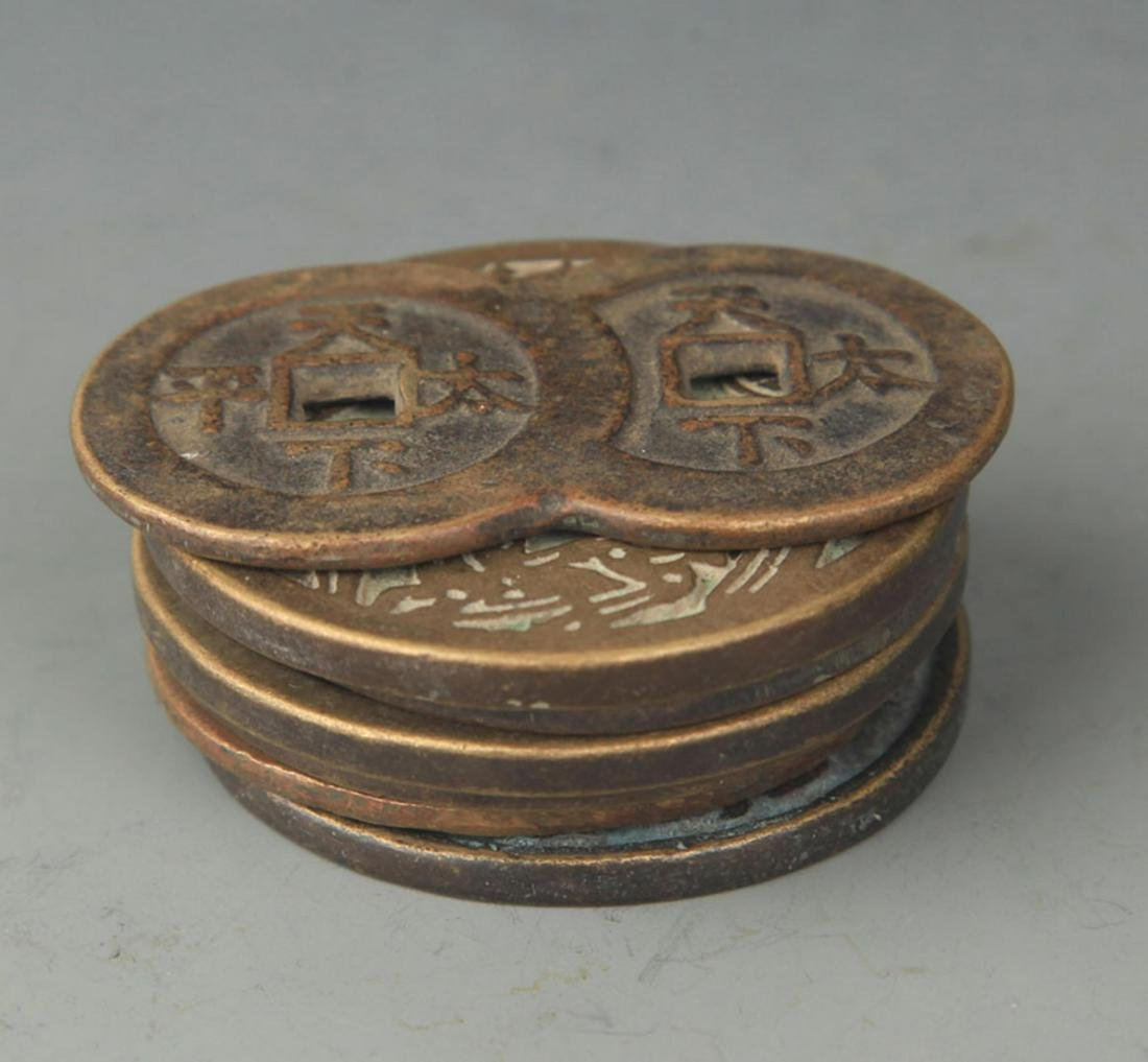 GROUP OF OLD CHINESE LUCKY COIN - 3