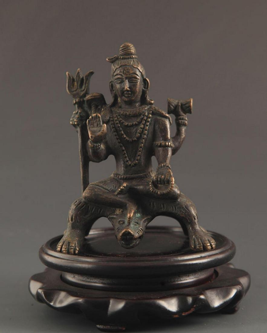 A FINE SMALL BUDDHA STATUE