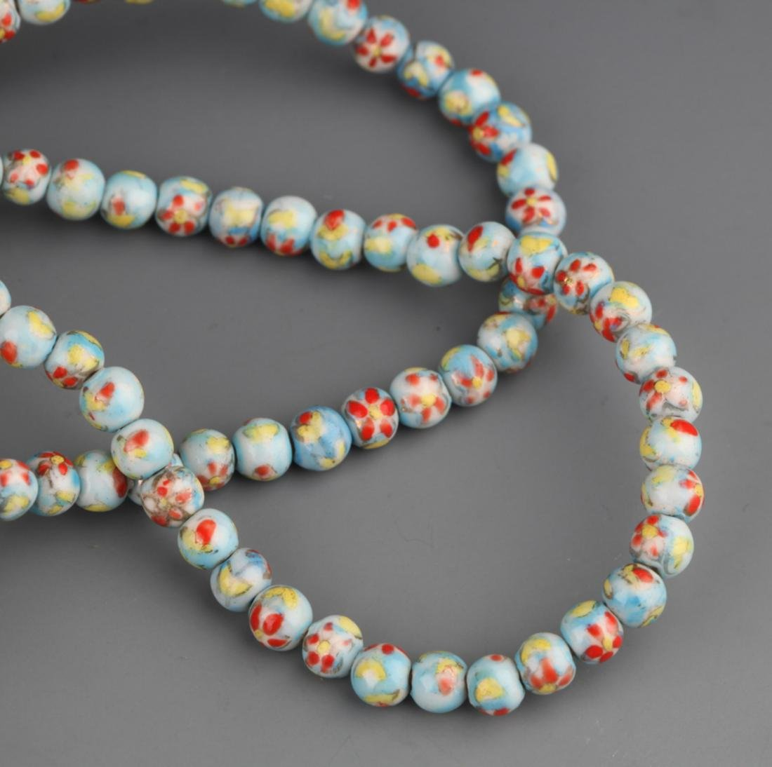 GROUP OF TWO OLD CHINESE NECKLACE - 4