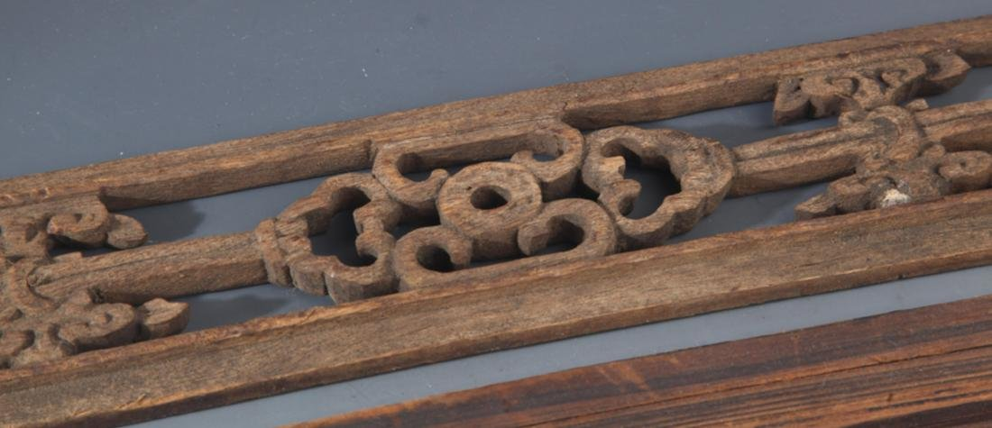 GROUP OF OLD FINELY CARVED WOODEN BOARD - 6