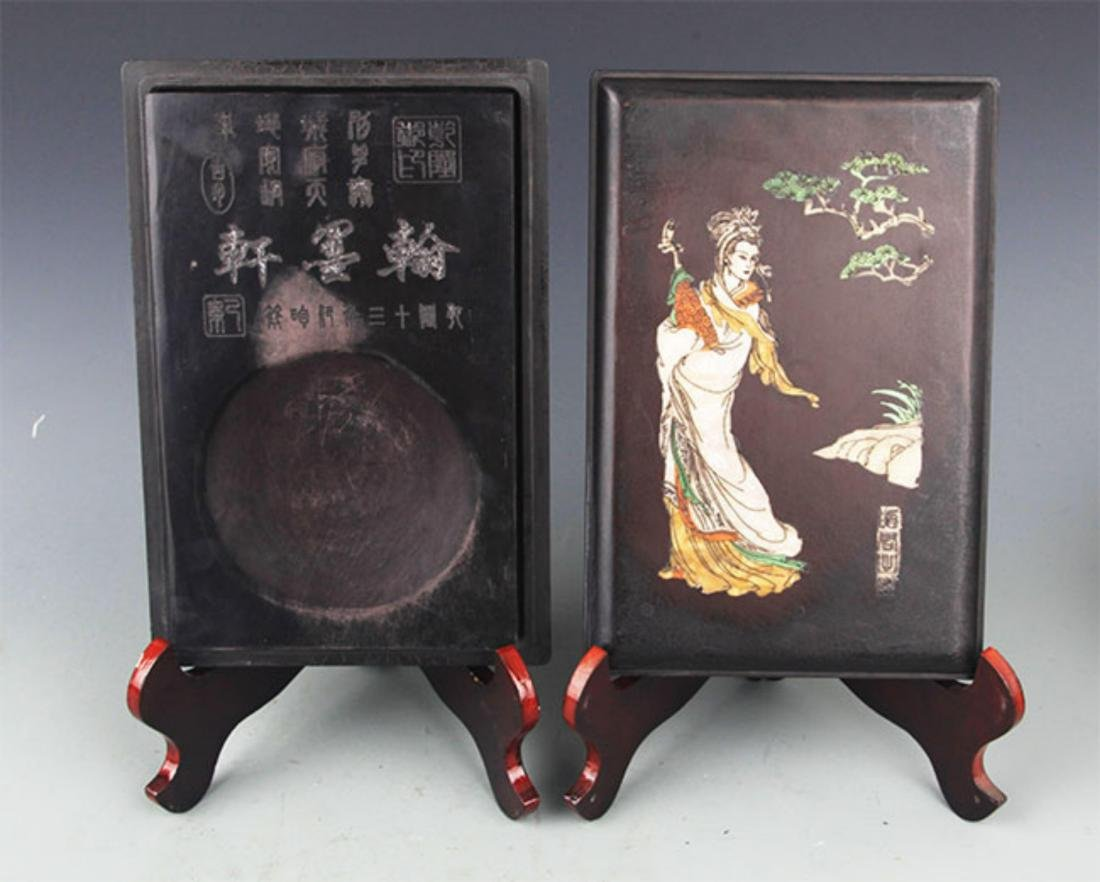 A FINE WHITE COLOR HAND MADE CHINESE ROBE