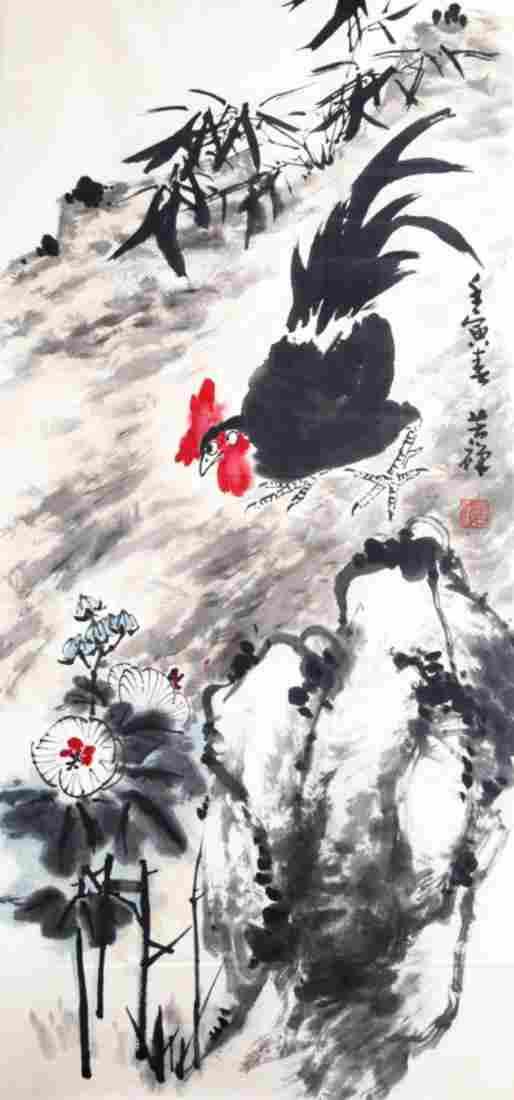 CHINESE PAINTING ATTRIBUTED TO LI KU CHAN