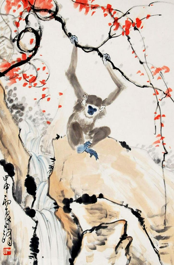 CHINESE PAINTING, ATTRIBUTED TO XUN QI FENG