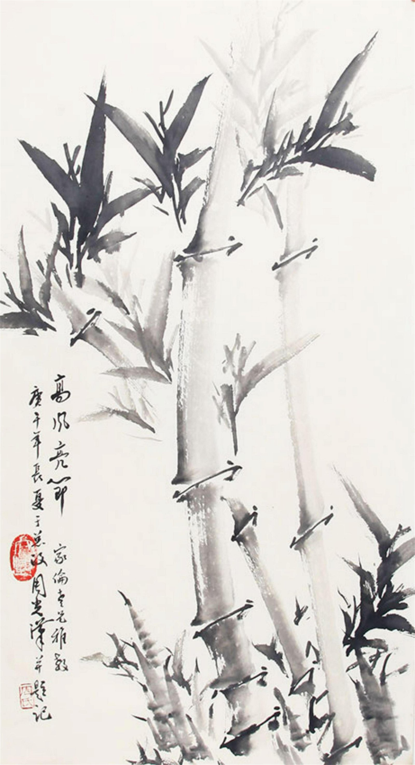 ZHOU GUANG HAN CHINESE PAINTING, ATTRIBUTED TO