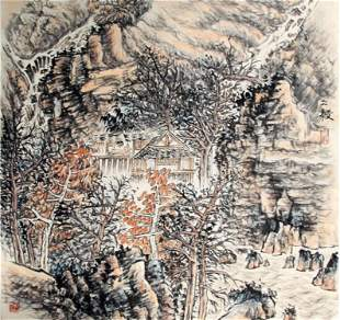 XIE BING YI CHINESE PAINTING ATTRIBUTED TO