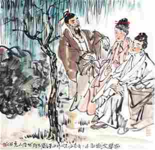 WEI XIAO SONG CHINESE PAINTING ATTRIBUTED TO