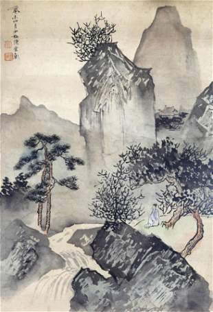 CUI ZI FAN CHINESE PAINTING ATTRIBUTED TO 19152011