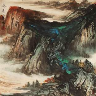 CHINESE PAINTING ATTRIBUTED TO WANG BEI QIU