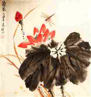 CHINESE PAINTING ATTRIBUTED TO CHENG GONG TAO DE LIAN