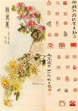 CHINESE PAINTING ATTRIBUTED TO DU BAI YANG