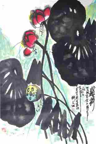 LIU WEN XI CHINESE PAINTING ATTRIBUTED TO 1933