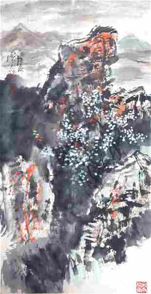 SONG YU GUI CHINESE PAINTING ATTRIBUTED TO