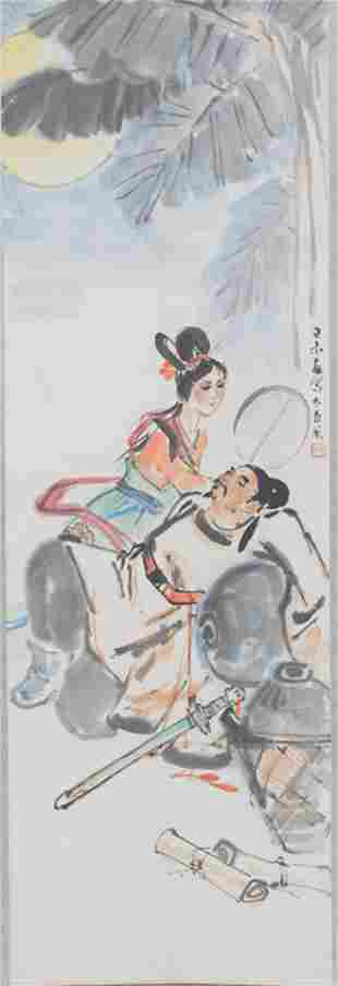 DUAN GU FENG CHINESE PAINTING ATTRIBUTED TO