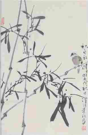 JIA BAO MING CHINESE PAINTING ATTRIBUTED TO