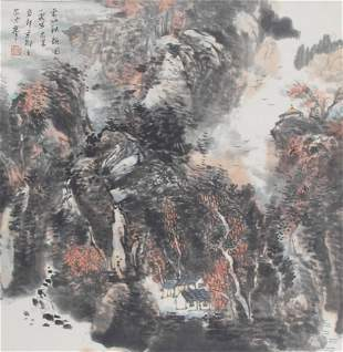 DONG JIA LIANG CHINESE PAINTING ATTRIBUTED TO
