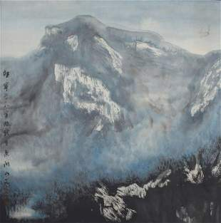 DONG JI NING CHINESE PAINTING ATTRIBUTED TO