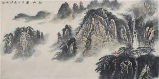 ZHANG PENG CHINESE PAINTING ATTRIBUTED TO