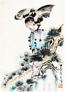 XUN QI FENG CHINESE PAINTING, ATTRIBUTED TO