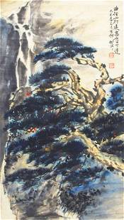 LIANG SHU NIAN CHINESE PAINTING, ATTRIBUTED TO