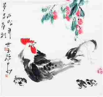 YAN QUAN CHINESE PAINTING, ATTRIBUTED TO