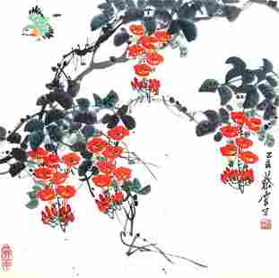 CAI YUN,CHINESE PAINTING ATTRIBUTED TO