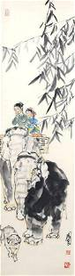 SHI GUO LIANG, CHINESE PAINTING ATTRIBUTED TO