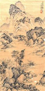 LIANG AN, CHINESE PAINTING ATTRIBUTED TO
