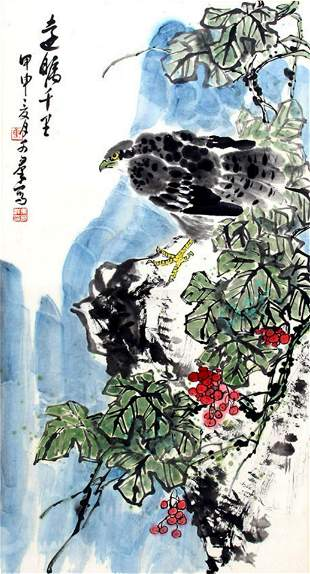 JIAO KE QUN, CHINESE PAINTING ATTRIBUTED TO
