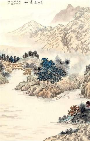 JIA CHUN HUA, CHINESE PAINTING ATTRIBUTED TO