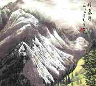ZHANG REN LING, CHINESE PAINTING ATTRIBUTED TO