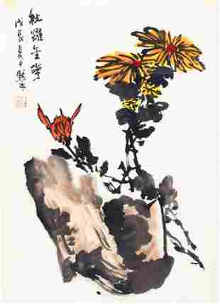 JIN MO RU, CHINESE PAINTING ATTRIBUTED TO